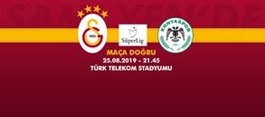 Maça doğru | Galatasaray – Konyaspor