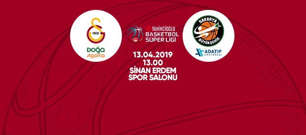 Maça doğru   Galatasaray Doğa Sigorta - Adatıp Sakarya Büyükşehir Belediye Basketbol