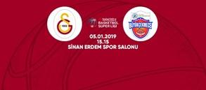 Maça doğru   Galatasaray – Arel Üniversitesi Büyükçekmece Basketbol