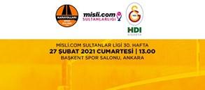 Maça Doğru | Karayolları - Galatasaray HDI Sigorta