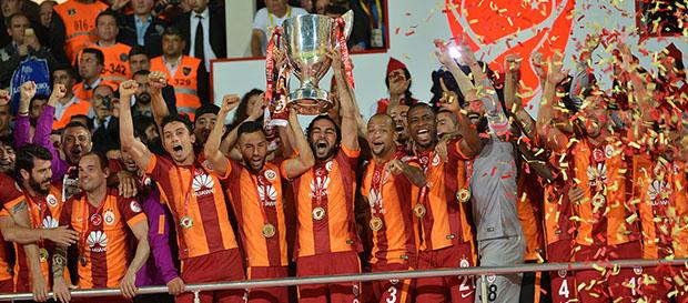 Galatasaray: 2011-2016 Türkiye'de 8/13 Şampiyonluk
