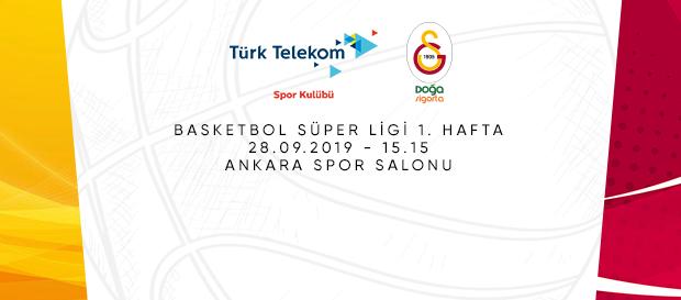 Maça doğru | Türk Telekom – Galatasaray Doğa Sigorta