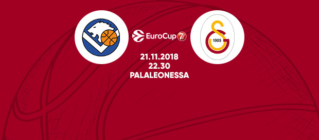 Maça doğru | Germani Basket Brescia - Galatasaray