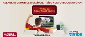 GSMobile'a Özel Tivibu Go Süper Paket Kampanyası