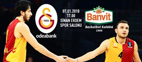 Maça doğru | Galatasaray Odeabank – Banvit
