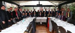 Başkanımız Mustafa Cengiz Taraftar Dernekleri ile bir araya geldi