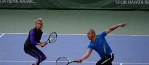 GTA Cup Kategori 1 Senior Tenis Turnuvası yapıldı