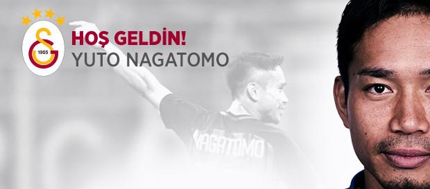 Hoş geldin Yuto Nagatomo!