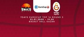 Maça doğru | Unics Kazan - Galatasaray Doğa Sigorta