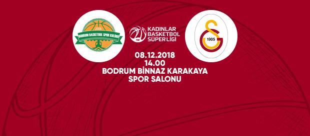 Maça doğru | Kırçiçeği Bodrum – Galatasaray