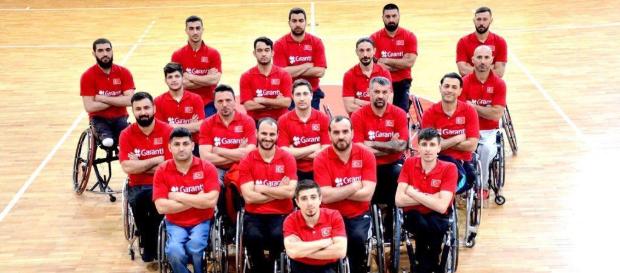 Tekerlekli Sandalye Basketbol A Milli Takımımız Avrupa üçüncüsü