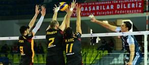 Galatasaray HDI Sigorta 1-3 Arkas Spor