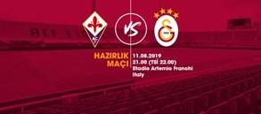 Hazırlık maçı: ACF Fiorentina - Galatasaray