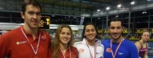 Avusturya Açık Kısa Kulvar Yüzme Şampiyonası Üçüncü Gün Sonuçları