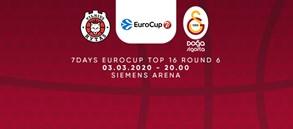 Maça Doğru   Rytas Vilnius - Galatasaray Doğa Sigorta
