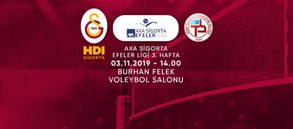 Maça doğru | Galatasaray HDI Sigorta - Tokat Belediye Plevne