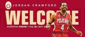 Jordan Crawford Galatasaray'da!