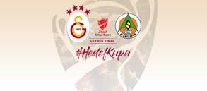 Ziraat Türkiye Kupası çeyrek finalinde rakibimiz Alanyaspor
