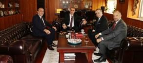 Başkanımız Mustafa Cengiz ve Yönetim Kurulumuzdan Başsavcı İrfan Fidan'a ziyaret
