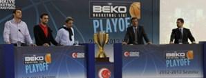 Beko Basketbol Ligi Play-Off Basın Toplantısı Yapıldı