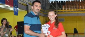 Simge Aslanalp U17 Balkan Şampiyonası'nda Rüya Takımda
