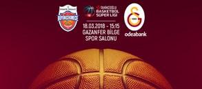 Maça doğru   Demir İnşaat Büyükçekmece – Galatasaray Odeabank