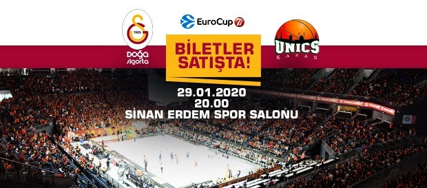 Unics Kazan maçı biletleri satışa çıktı