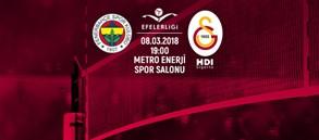 Maça doğru | Fenerbahçe - Galatasaray HDI Sigorta