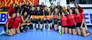 Galatasaray HDI Sigorta 3-1 Nilüfer Belediye