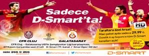Galatasaray D-Smart İşbirliğinden Taraftarlarımıza Özel Kaçırılmayacak Kampanya