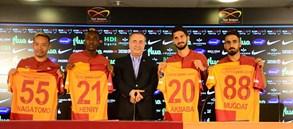 Futbol Takımımızda 4 Transferimize İmza Töreni