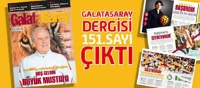 Galatasaray Dergisi 151. Sayısı Bayilerde
