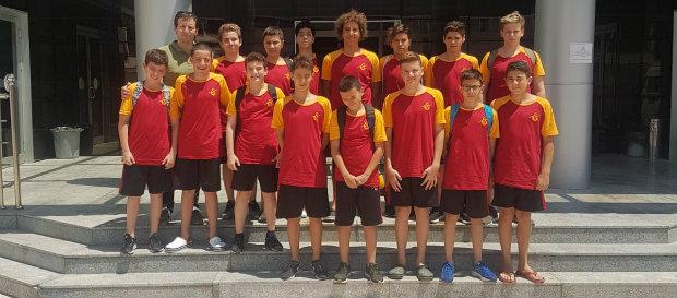 Galatasaray U13 Erkek Sutopu Takımımız namağlup lider