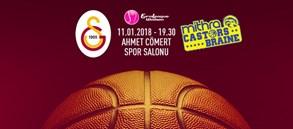 Maça doğru | Galatasaray – Castors Braine