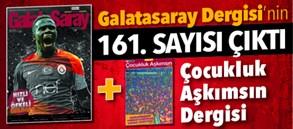 Galatasaray Dergisi 161. sayısı bayilerde