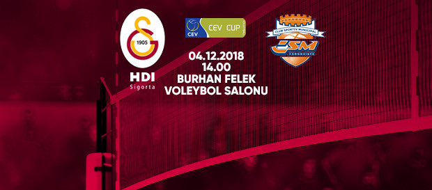 Maça doğru | Galatasaray HDI Sigorta - CSM Targoviste