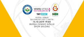 Maça doğru | Nilüfer Belediye – Galatasaray HDI Sigorta