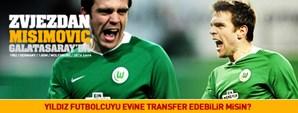 Zvjezdan Misimovic Galatasaray'da