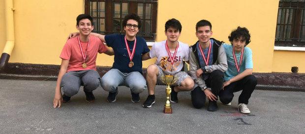 9. Mekteb-i Sultani Takım Turnuvası'nda Şampiyon Galatasaray