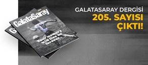 Galatasaray Dergisi'nin 205. sayısı GS Store'larda satışta