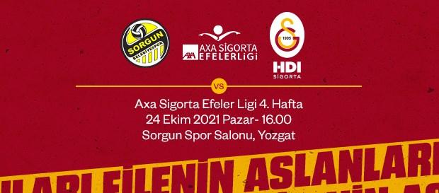 Maça Doğru | Sorgun Belediye - Galatasaray HDI Sigorta