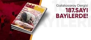 Galatasaray Dergisi'nin 187. sayısı raflardaki yerini aldı