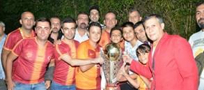 21. şampiyonluk Yalova'da kutlandı