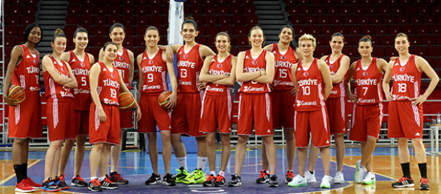 2015 FIBA Kadınlar Avrupa Şampiyonası Başlıyor