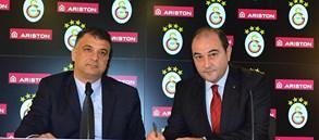 Galatasaray ile Ariston Sponsorluk Anlaşması İmzaladı