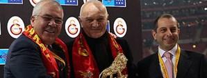 Şengün Kaplanoğlu Türk Telekom Arena'daydı