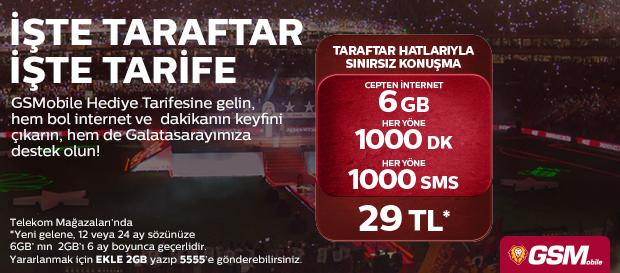 İŞTE TARAFTAR İŞTE TARİFE!