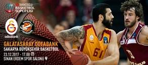 Maça doğru | Galatasaray Odeabank – Sakarya Büyükşehir Basketbol