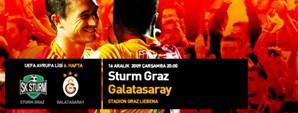 Maça Doğru: Sturm Graz – Galatasaray
