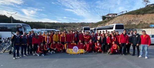 Türkiye Salon Kürek Şampiyonası'nda 5 birincilik kupası